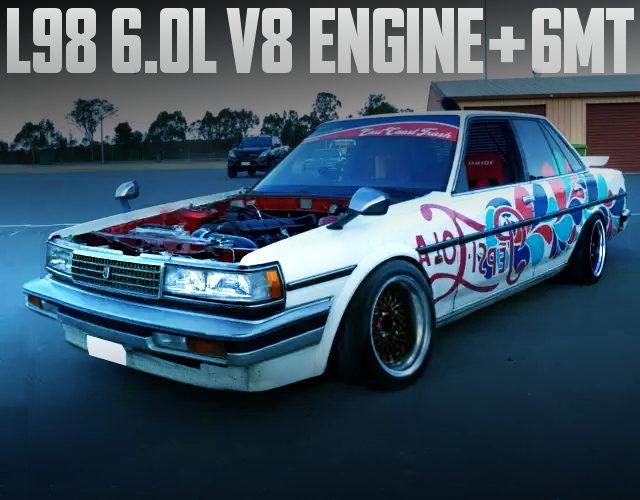 L98 6000cc V8 ENGINE WITH 6MT INTO MX73 CRESSIDA