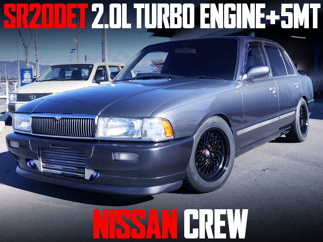 SR20DET ENGINE WITH 5MT OF NISSAN CREW