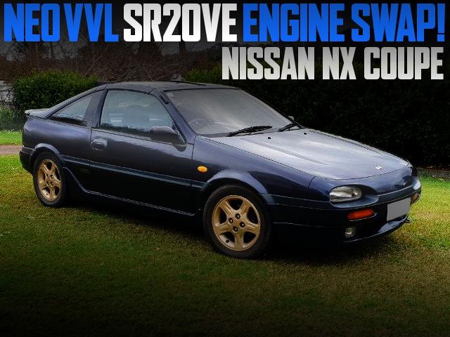 SR20VE ENGINE SWAP NISSAN NX COUPE
