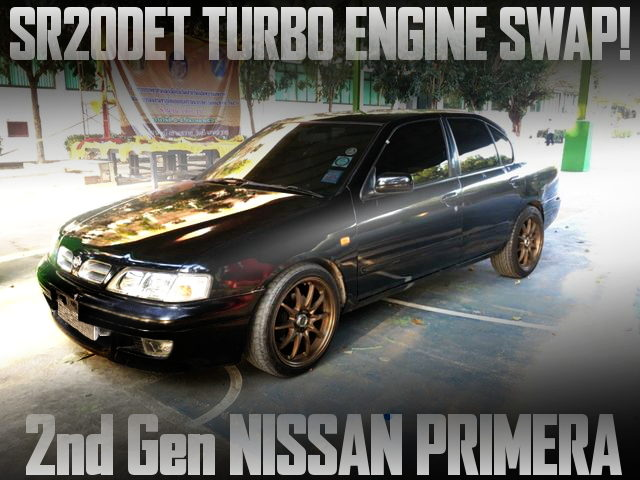SR20DET TURBO ENGINE SWAP P11 PRIMERA