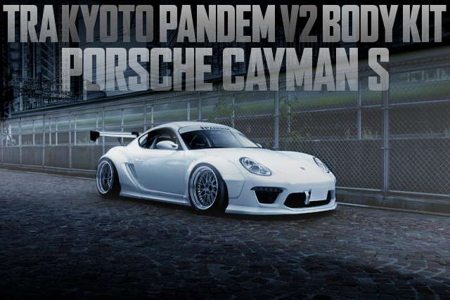 PANDEM WIDEBODY PORSCHE CAYMAN 987