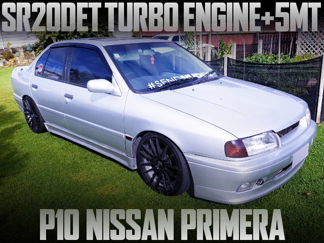 SR20DET TURBO ENGINE WITH 5MT P10 PRIMERA