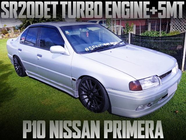 SR20DET TURBO ENGINE WITH 5MT P10 PRIMERA