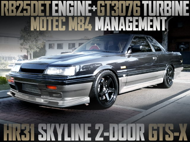 RB25DET GT3076 TURBO HR31 SKYLINE GTSX