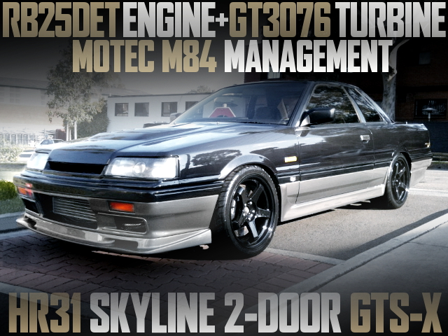 RB25DET GT3076 TURBO HR31 SKYLINE GTSX