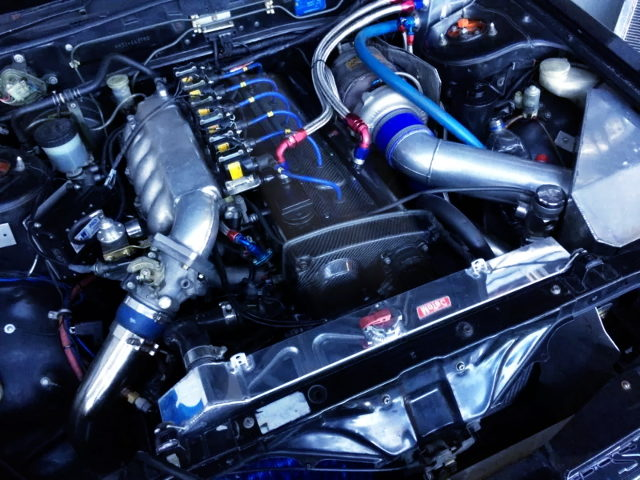 RB25DET TURBO ENGINE WITH GT3076 TURBO