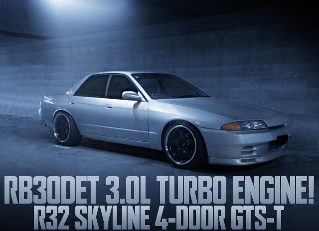 RB30DET TURBO ENGINE R32 SKYLINE SEDAN GTS-T