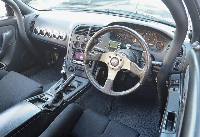 R33GTR DASHBOARD