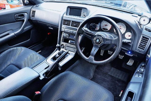 R34 GTR DASHBOARD