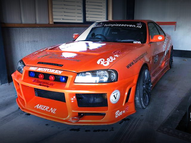 FRONT FACE R34 TO R33 SKYLINE