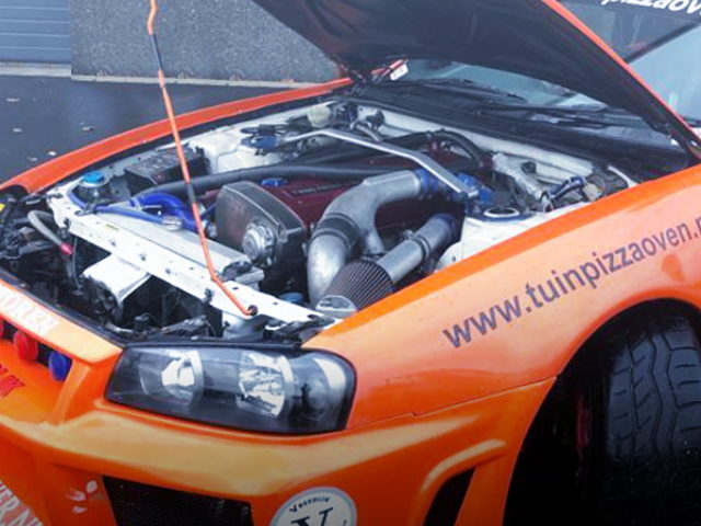 RB30 TWINTURBO ENGINE