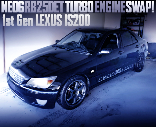 RB25DET TURBO ENGINE SWAP LEXUS IS200