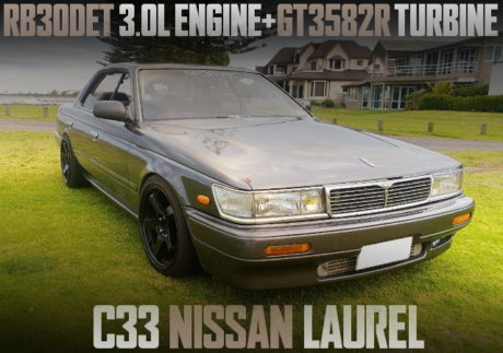RB30DET TURBO ENGINE SWAP C33 LAUREL