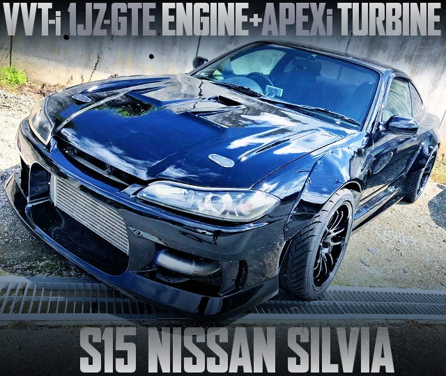 JZX100 1JZ TURBO ENGINE SWAP S15 SILVIA