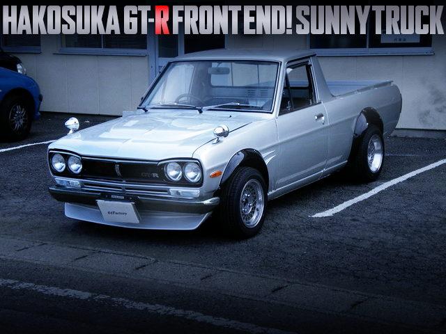 HAKOSUKA GTR FRONT END SUNNY TRUCK