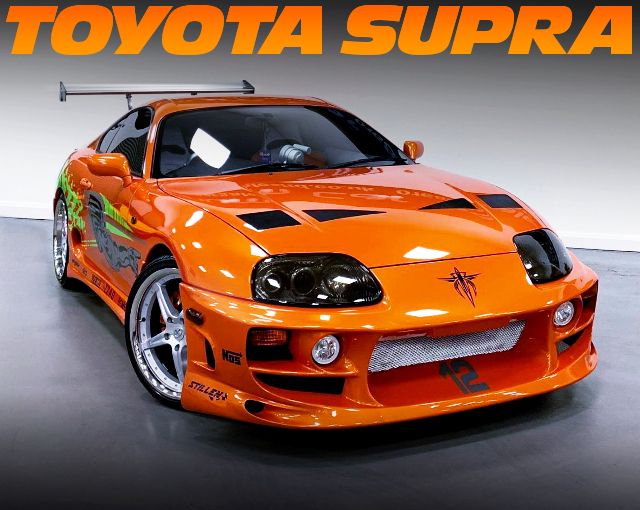 FAST AND FURIOUS REPLICA JZA80 SUPRA