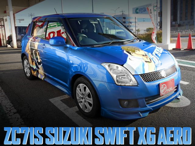 ITASHA FREE FOR SUZUKi SWIFT XG AERO
