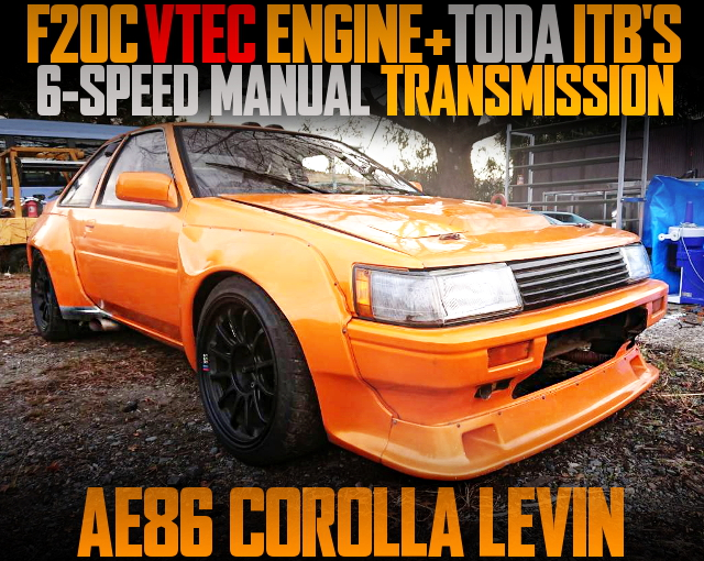 F20C VTEC ENGINE 6MT AE86 LEVIN