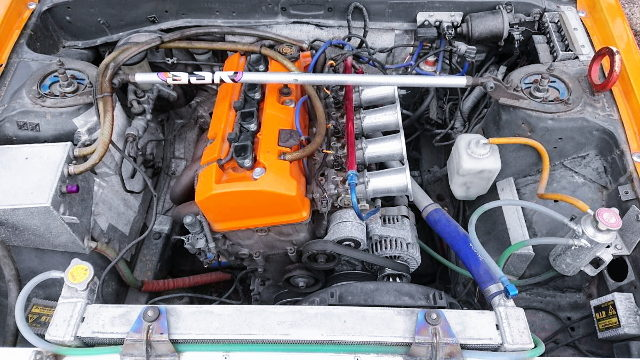 F20C VTEC ENGINE WITH ITB