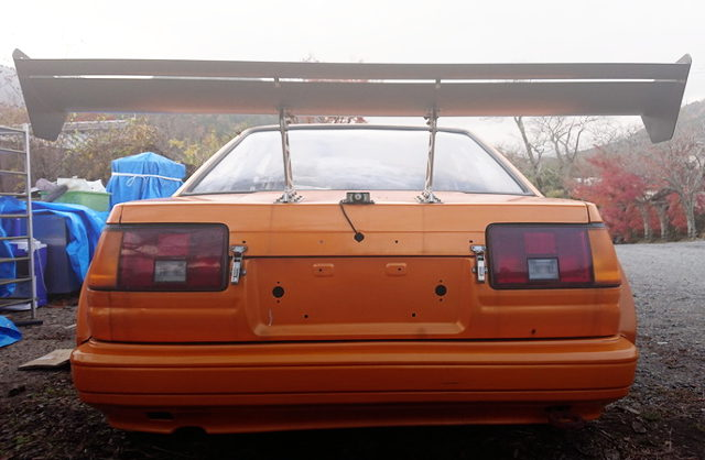 rear gt-wing for ae86 levin