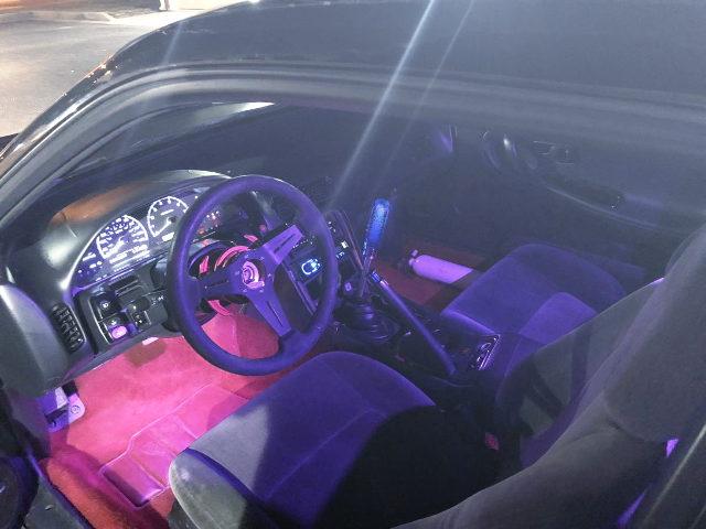 S13 240SX HATCH INTERIOR