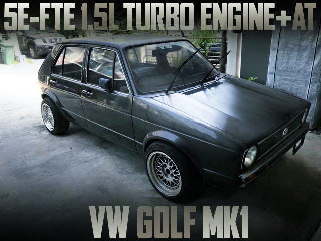 5E-FTE 1500cc TURBO ENGINE VW GOLF MK1