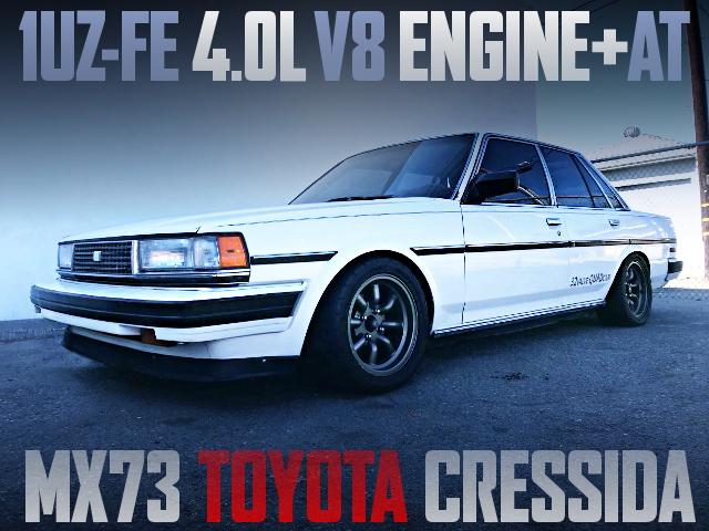 1UZ V8 ENGINE WITH AT INTO MX73 CRESSIDA