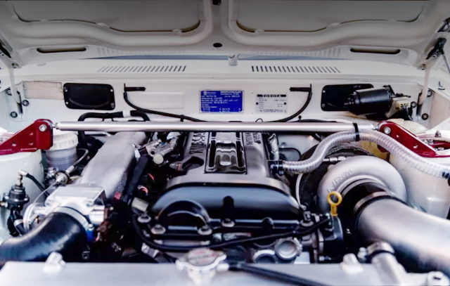 S15 SR20DET TURBO ENGINE