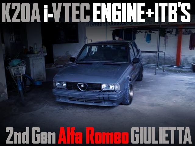 K20A iVTEC ENGINE SWAP ALFA ROMEO GIULIETTA