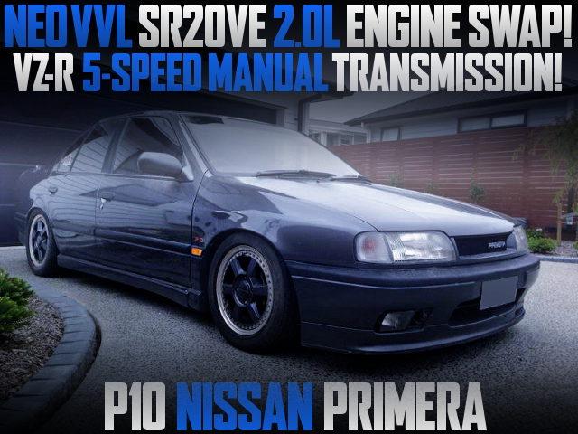 NEO VVL SR20VE ENGINE SWAP P10 PRIMERA 4-DOOR