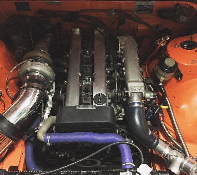 1JZ-GTE ENGINE WITH GTX3076R TURBO