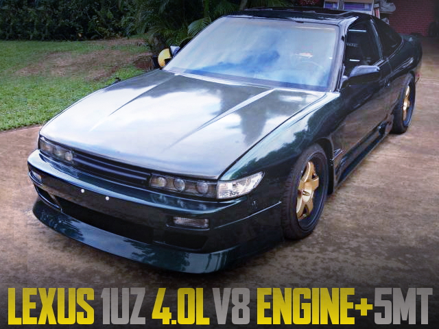1UZ ENGINE WITH 5MT FOR S13 240SX
