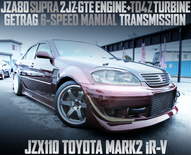 2JZ WITH TO4Z JZX110 MARK2