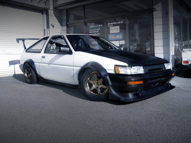 FRONT EXTERIOR AE86 COROLLA LEVIN