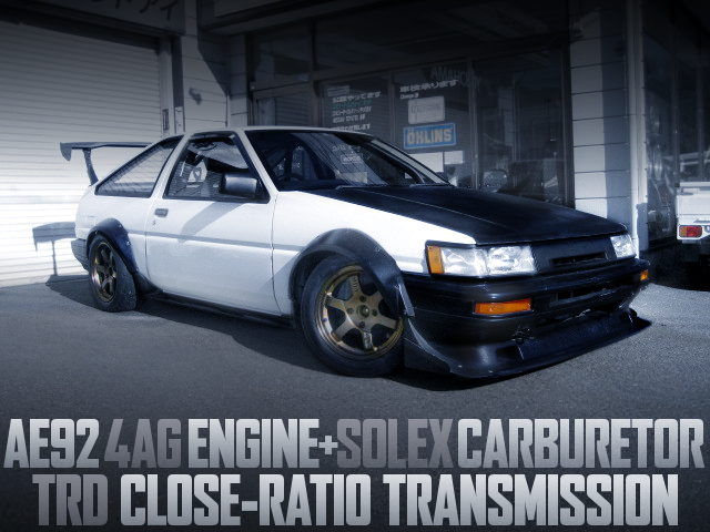 4AG SOLEX CARBS ENGINE AE86 LEVIN WIDEBODY