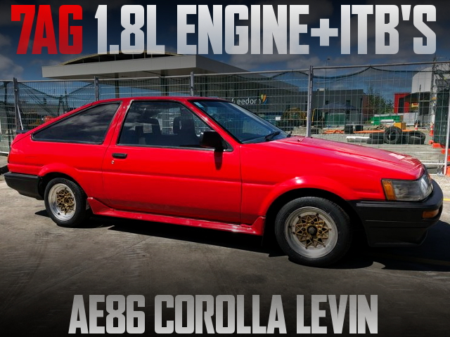 7AG 1800cc ENGINE AE86 LEVIN