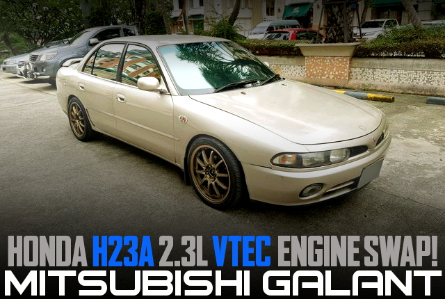 HONDA H23A VTEC ENGINE SWAP 7th Gen GALANT