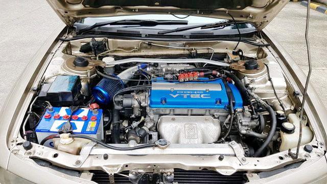 H23A 2300cc VTEC ENGINE BLUE HEAD