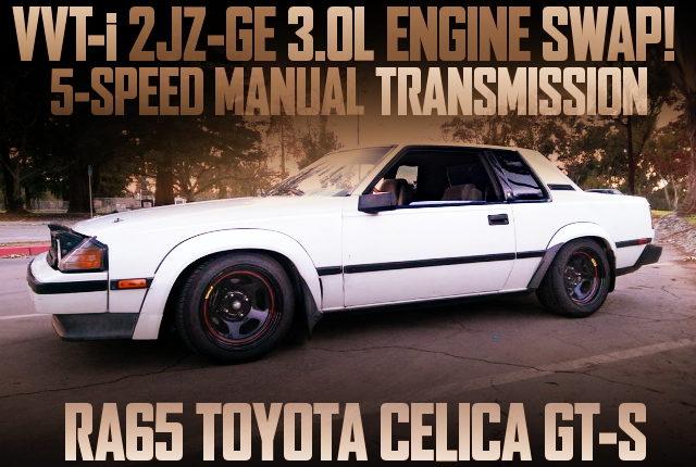 VVTi 2JZ-GE ENGINE SWAP RA65 CELICA GTS COUPE