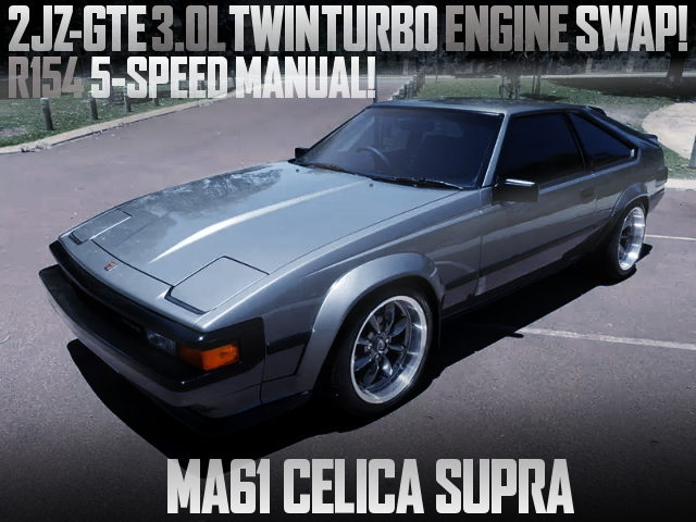 2JZ-GTE TWINTURBO ENGINE MA61 CELICA SUPRA