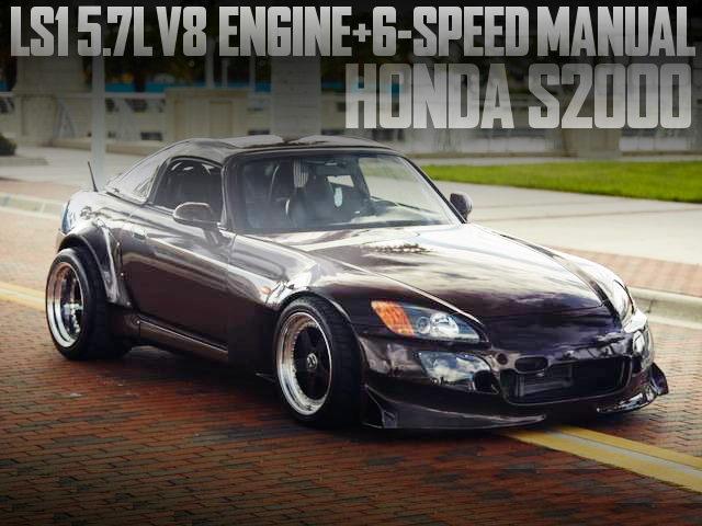 LS1 V8 ENGINE 6SPEED HONDA S2000