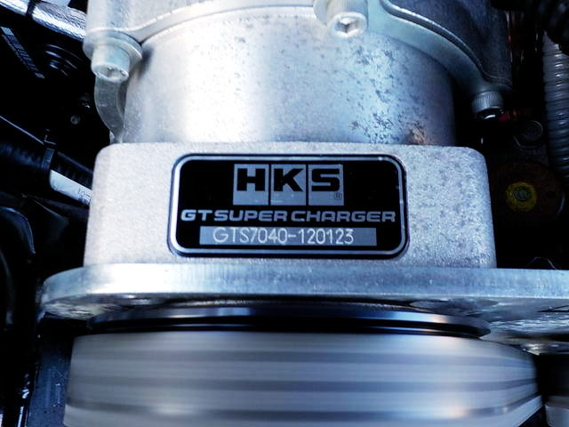 HKS GTS7040 SUPERCHARGER