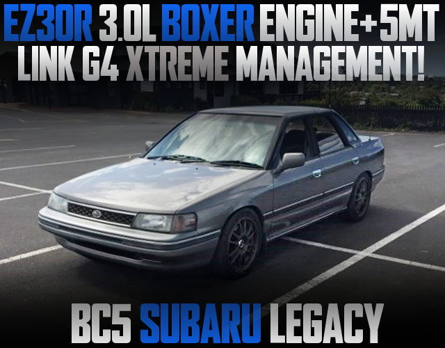 EZ30R 3000cc BOXER ENGINE WITH 5MT INTO BC5 LEGACY