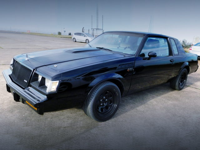 FRONT EXTERIOR BUICK GRAND NATIONAL
