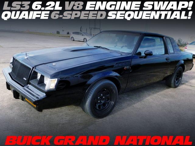 LS3 6200cc V8 ENGINE BUICK GRANDE NATIONAL