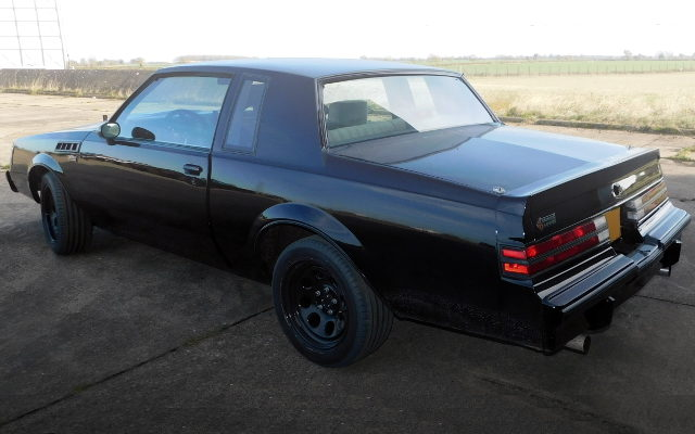 REAR EXTERIOR BUICK GRAND NATIONAL