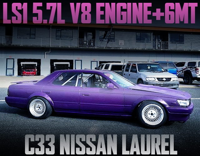 LS1 5700cc V8 ENGINE C33 LAUREL