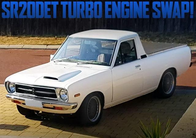 SR20DET TURBO ENGINE INTO DATSUN 1200 UTE