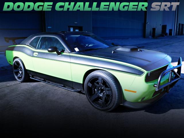 FAST FURIOUS 7 REPLICA DODGE CHALLENGER SRT