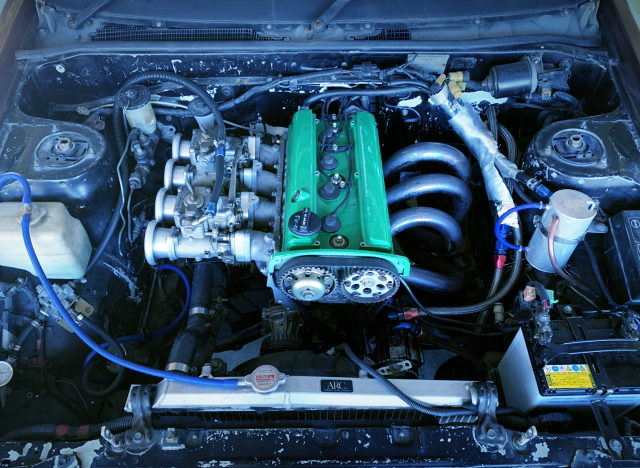 CARBURETED 20V 4AG ENGINE